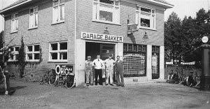 1932 - Garage Bakker aan de Nieuwstraat