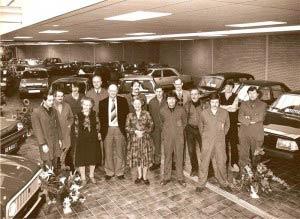 1983 - Garage Bakker team